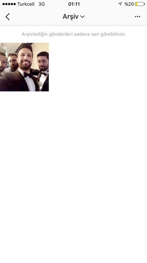 instagram arşiv geri getirme