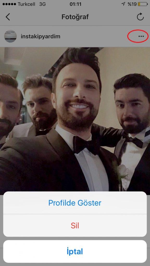 instagram arşivden video geri getirme