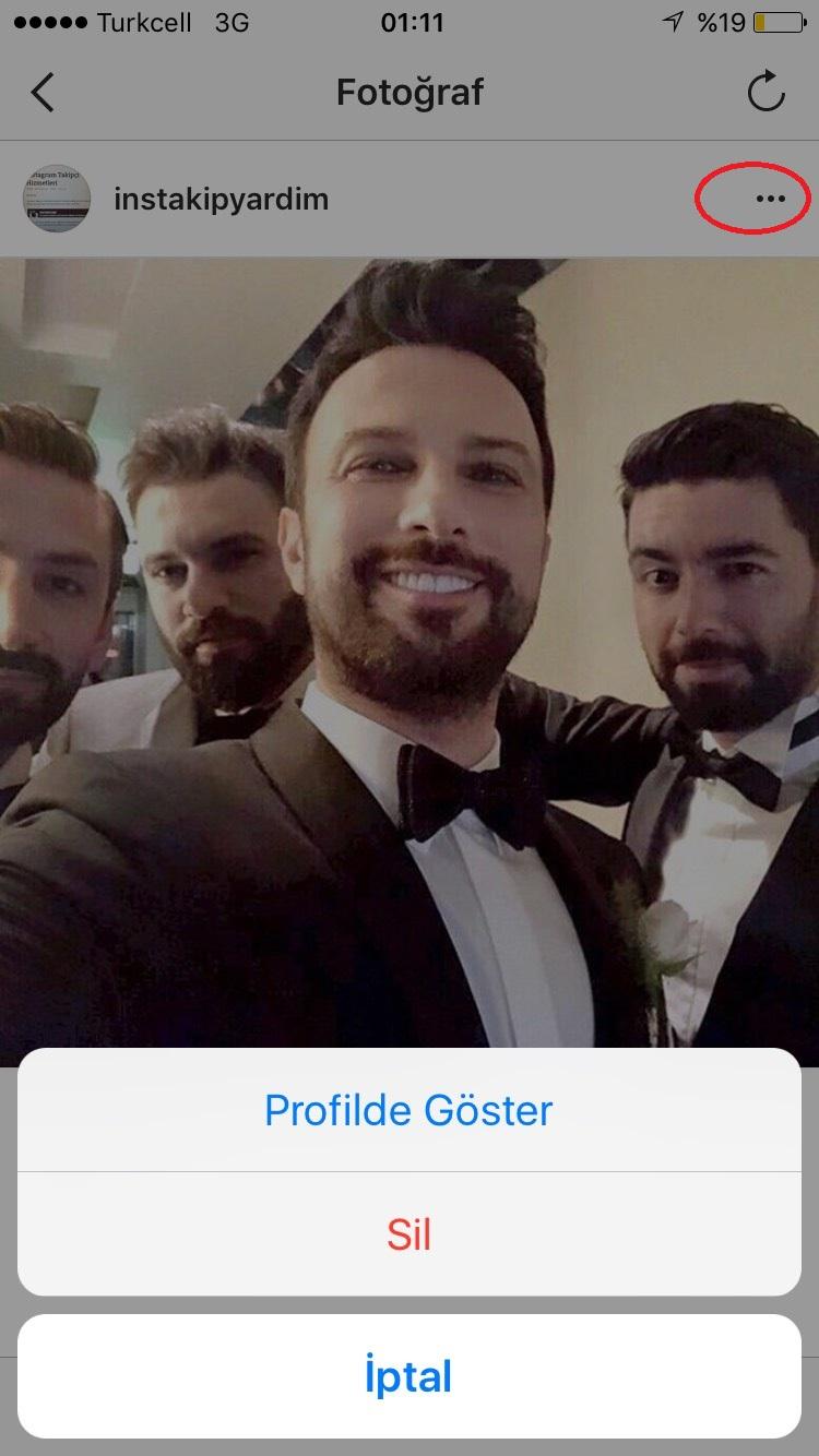 instagram arşivden video foto geri getirme
