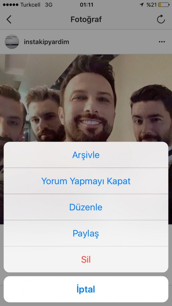 instagram video arşivleme 3